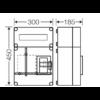 HB1012F-E Hensel Basic 1F + elmenő mérőóra szekrény EON