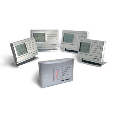 Szobatermosztát digitális HETI programozható rádiófrekvenciás Q8 RF (multi zóna)