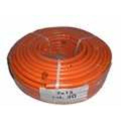 Gáztömlő 9x15 szövött orange Asagas 9 x 15 mm