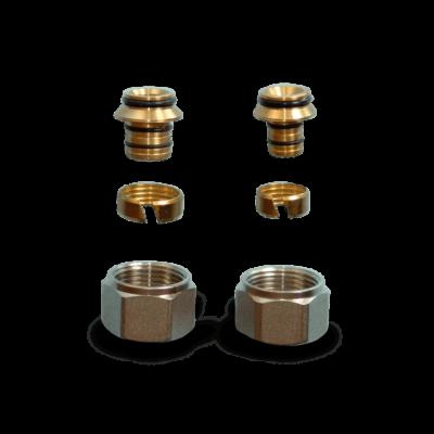 Csőcsatlakozó MF07 16 mm ( Computherm osztó-gyűjtő szerelvény )