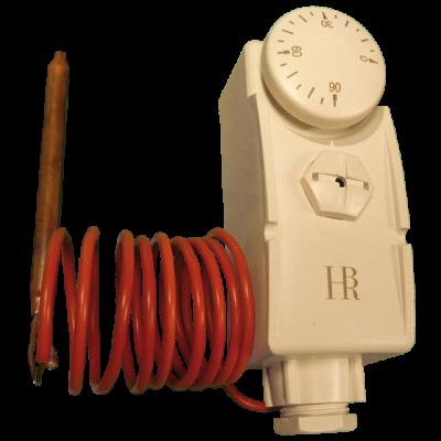 Csőtermosztát kapillárcsöves 20-90 °C BRH W15 ( csőhossz: 1000mm, érzékelő: 6,5 x 72mm )