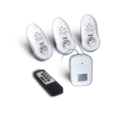 Távirányítható dugaljak + telefonos távkapcsoló COMPUTHERM KD-204