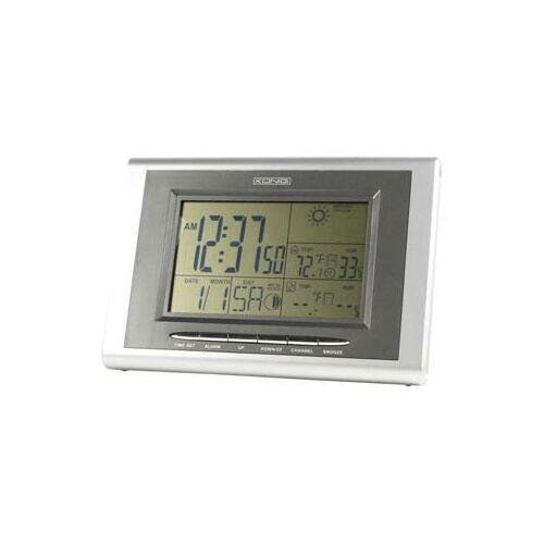 Digitális időjárás állomás KÖNIG KN-WS400 ( külső-belső hőmérő, páramérő, óra..)