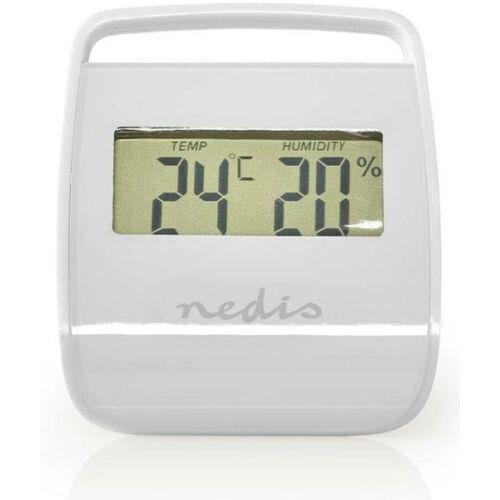 Digitális belső hőmérő páratartalom mérővel NEDIS WEST100WT