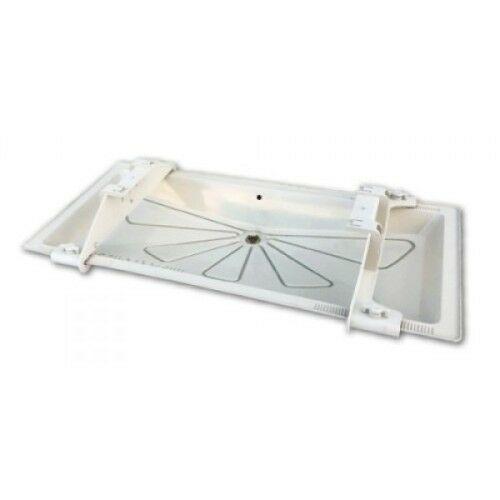 TECNOSYSTEMI 11100100F 850x450mm Klíma kültéri csepptálca beépíthető fűtőkábellel