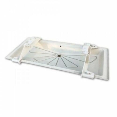 TECNOSYSTEMI 11100101F 1050x400mm Klíma kültéri csepptálca beépíthető fűtőkábellel