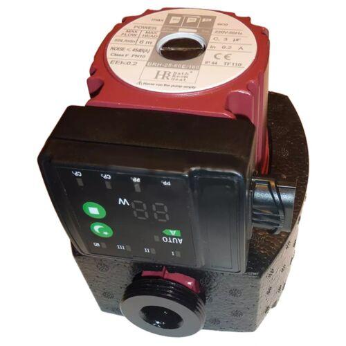 """BRH 25-60E, 6/4"""" csatlakozás, 180mm beépítési hossz, üzemi hőmérséklet max 110°C (*A* energiaosztály) Keringető szivattyú"""