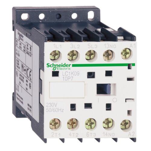 Mágneskapcsoló SCHNEIDER ELECTRIC TESYS LC1K0901P7 230 V AC 50/60 Hz (4kW/400V)