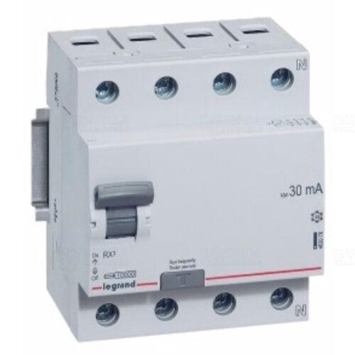 LEGRAND RX3 4P. 25A 30mA (402074) Áramvédő kapcsoló (Fi-Relé)
