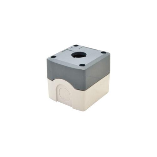 TRACON (NYGD-1GR) 1-es IP65 d=22,5mm Műanyag tok