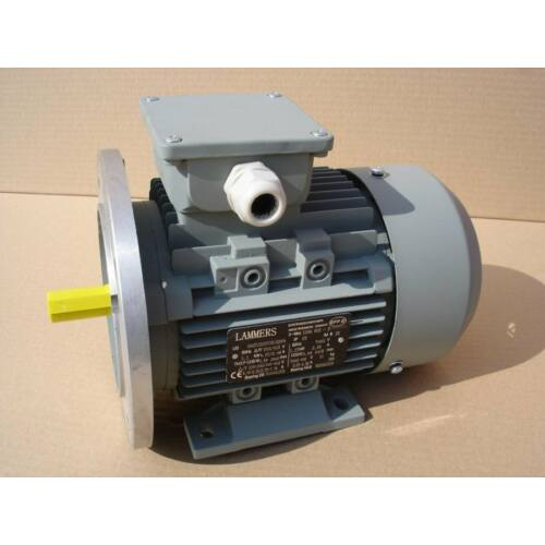 12AA80A6 0,37 kW 230/400 V 6 pólusú (nagyperemes-talpas) Villanymotor