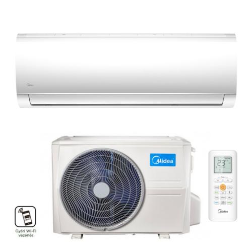 Midea Blanc MAX-09-SP-WIFI (MA-09NXD0-I-WIFI / MOX133-09HFN8) 2,6 kW mono oldalfali klíma szett
