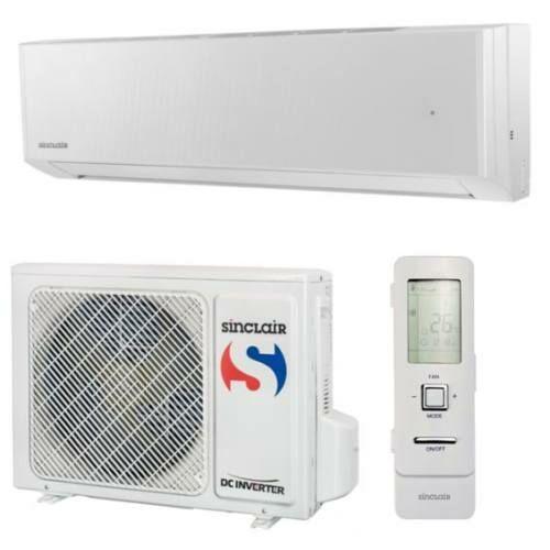 SINCLAIR SPECTRUM PLUS ASH-09BIS/W 2,5 kW mono oldalfali klíma szett