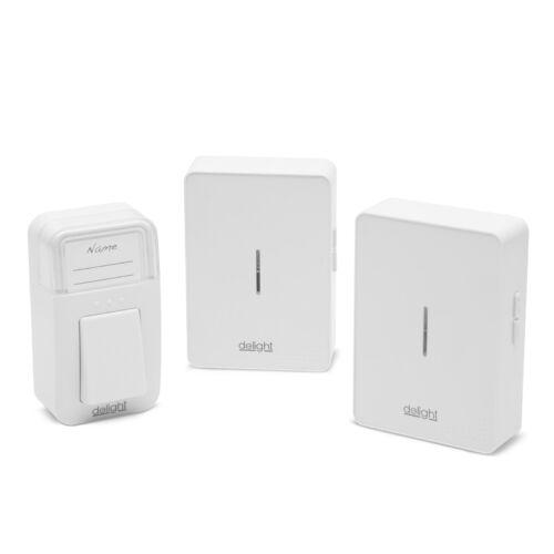Digitális elem, - és vezeték nélküli csengő-dupla (55340)