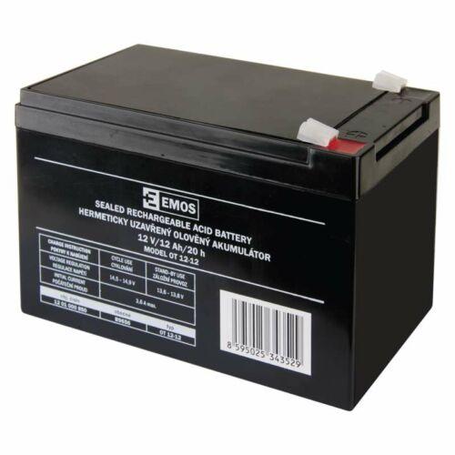 Gondozásmentes akkumulátor 12v 12ah