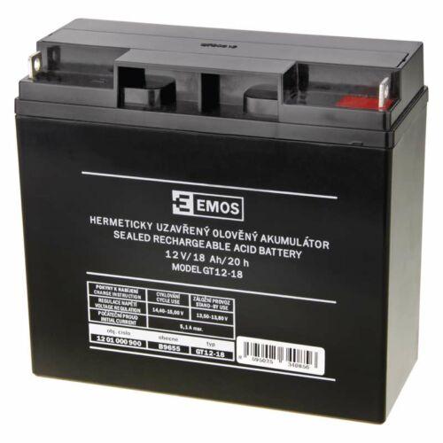 Gondozásmentes akkumulátor 12V 18Ah