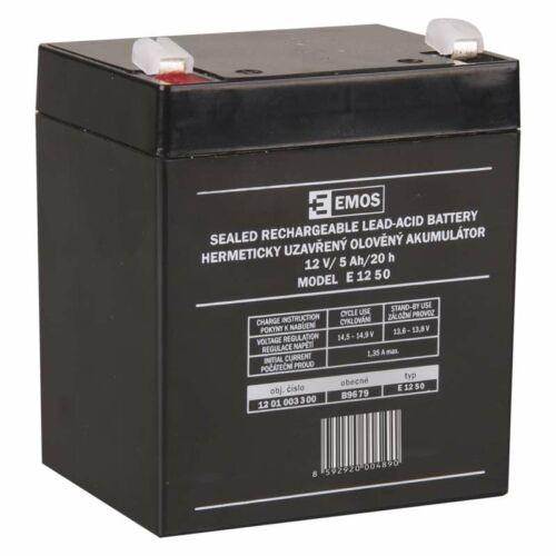 Gondozásmentes akkumulátor 12V 5Ah