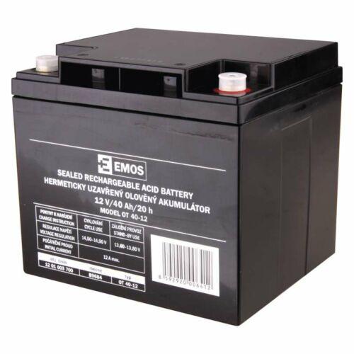 Gondozásmentes akkumulátor 12V 40Ah