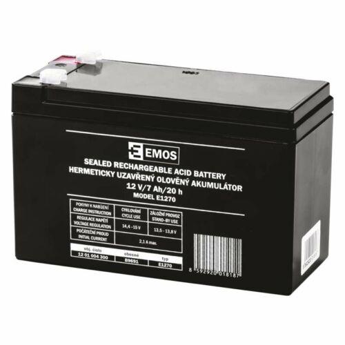 Gondozásmentes akkumulátor 12V 7Ah