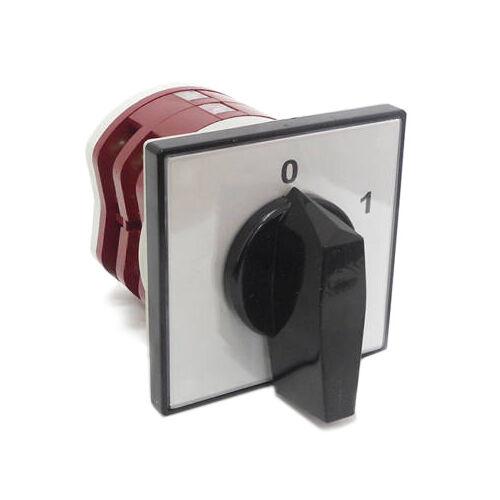 Kézikapcsoló 3P 16A előlapra szerelhető 0-1 állású (APATOR 4G10-10-U)