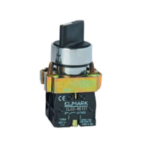 Forgócsapos kétállású kapcsoló, beépíthető ELMARK (401421)