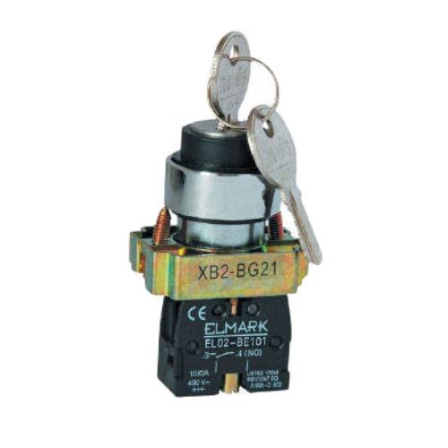 Kulcsos kapcsoló beépíthető (0-1) ELMARK (401121)