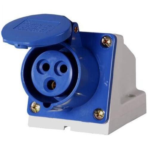 Ipari rögzíthető dugalj DAFR-162 3P 16A 250V (411113)