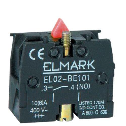 Bontó érintkező piros nyomógombhoz (401002) ELMARK