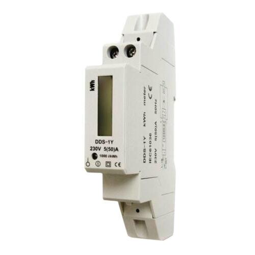 1 fázisú digitális fogyasztásmérő 1mod. 5(50A) 230V GAO5256H