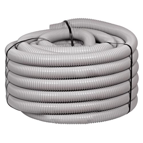 Villanyszerelési gégecső szürke 50 mm 25 fm/tekercs