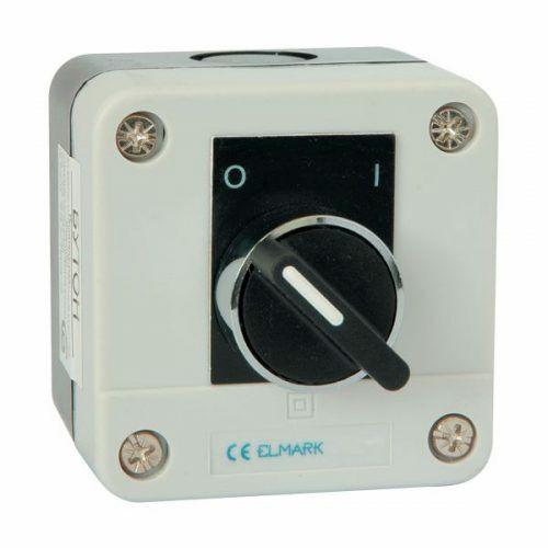 Tokozott forgócsapos kapcsoló (0-1) ELMARK (401134)
