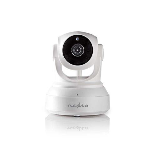 Nedis WiFi Intelligens IP-kamera | Pásztázás/Döntés | HD 720p | Beltéri IPCMPT10CWT