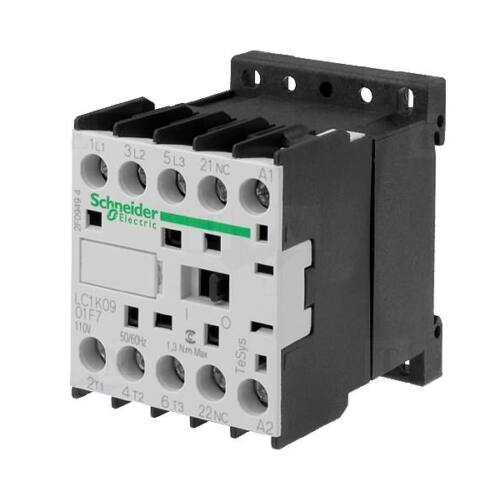 Mágneskapcsoló SCHNEIDER ELECTRIC TESYS LP1K1210BD 24 V DC (5,5kW-380/415V)