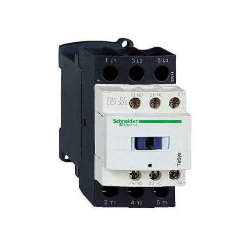 Mágneskapcsoló SCHNEIDER ELECTRIC TESYS LC1D09B7 24 V AC 50/60 Hz (4kW/400V)