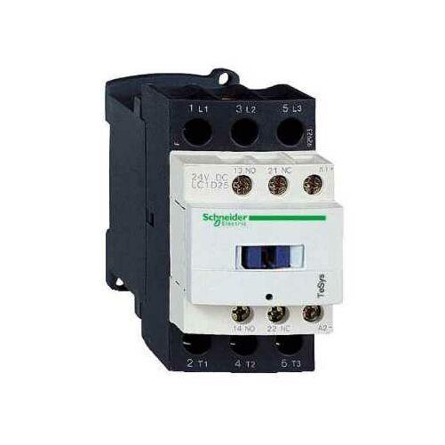 Mágneskapcsoló SCHNEIDER ELECTRIC TESYS LC1D12B7 24 V AC 50/60 Hz (5,6kW/400V)