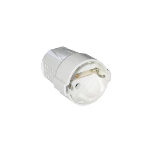 Lengő dugalj fehér 16A 230V STI444