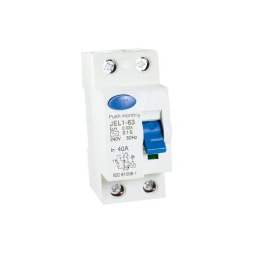 Áramvédő relé (Fi-Relé) 2P. 40A 30mA (423020)