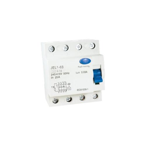 Áramvédő relé (Fi-Relé) 4P. 25A 30mA (423035)