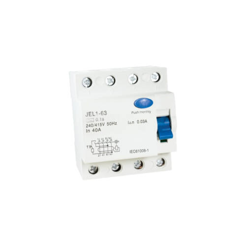 Áramvédő relé (Fi-Relé) 4P. 40A 30mA (423050)