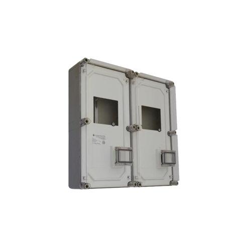 PVT 6060 Á-V FM 600x600 2x 1Fv 3F + vezérelt mérőóra szekrény