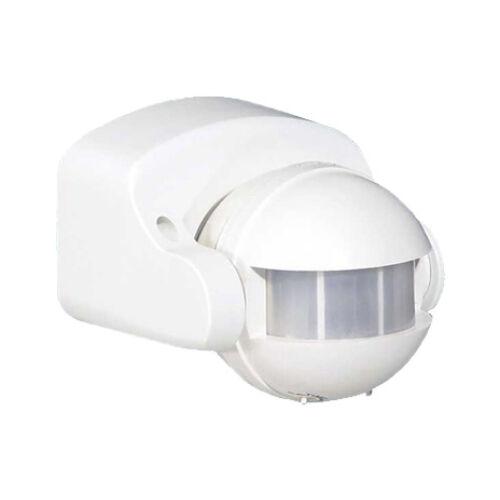 Mozgásérzékelő oldalfali billenthető fehér 180° 1200W (199001)