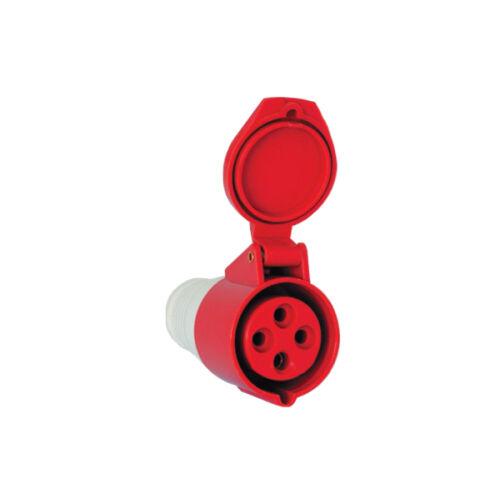 Ipari lengő dugalj DAFH-163 16A 4P (411214)
