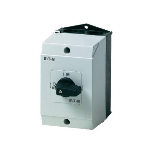 Ipari kézikapcsoló tokozott 3P 32A BE-KI Moeller Eaton P1-32/I2