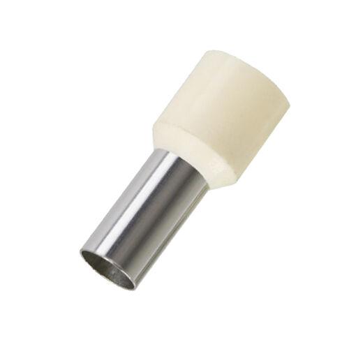 Szigetelt érvéghüvely 10mm2 rövid (fehér) Weidmüller