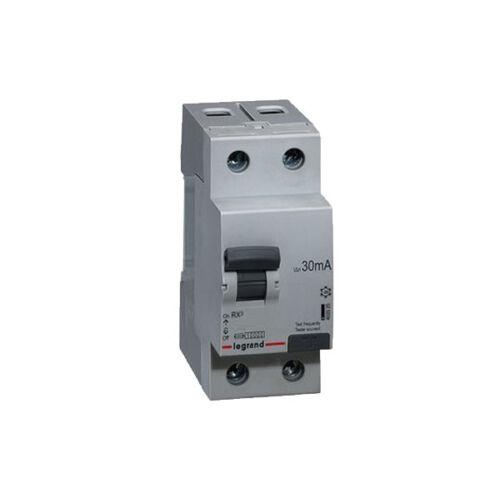 Áramvédő kapcsoló (Fi-Relé) LEGRAND RX3 2P. 40A 30mA (402037)