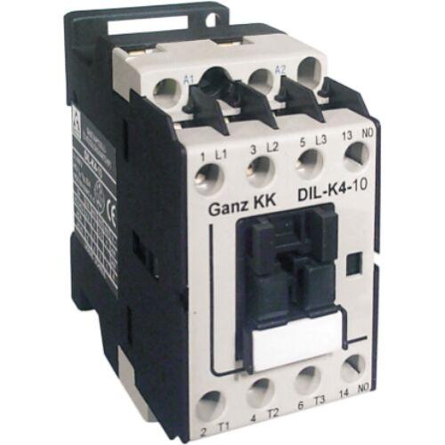 GANZ DIL-K4-10 230V AC mágneskapcsoló (100-0002-350-DL)