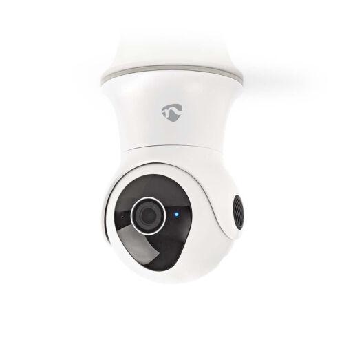 Nedis WiFi Intelligens IP-kamera | Pásztázás/Döntés | Full HD 1080p | Kültéri | Vízálló WIFICO20CWT