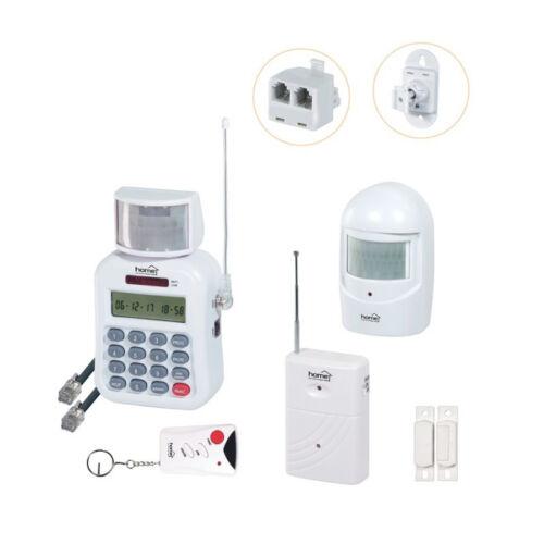 Infra riasztó szett vezeték nélküli + távirányító + telefonhívó (HS 70)