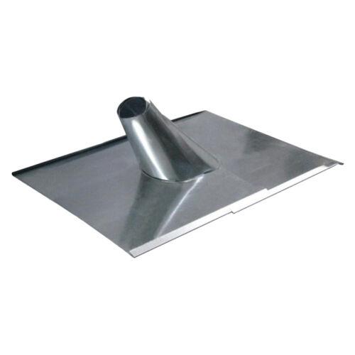 Esővédő lemez horganyzott fém 2*
