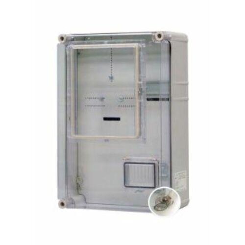 PVT 3045 EON VFM 300x450 1F + vezérelt mérőóra szekrény